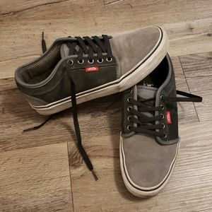 Vans Off The Wall Suede Skateboard Shoes